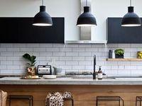 Kitchen Ideas / Kitchen design and kitchen ideas. Cabinets, tiles, decor, islands, sinks, lighting, floors and accessories.