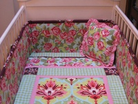 Crib Bedding sets Sewing Project Ideas