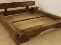 1000 images about bett rustikal on pinterest teak old for Schlaf bett 140x200