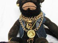Funky Sock Monkey on Pinterest | 16 Pins