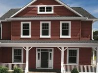 Siding on pinterest shake siding vinyl siding and red for Norman rockwell siding