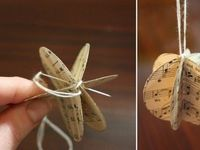 Crafts that you can make from old books.