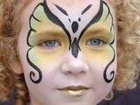 schminken  van kinderen