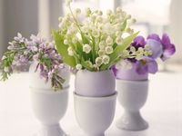Easter flower decor inspiration from my favorite online magazines and blogs.