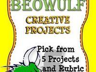 beowulf dragon essay