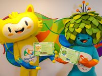 Olympic Mascots / Olympic-sized cuteness