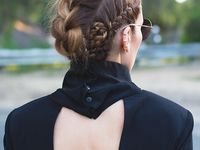 ... about hair on Pinterest Faux hawk braid, Long hair and The double