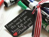 Appreciation ideas, Rewards, Gifts