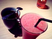 Kuliner Agak Mewah / Pengambilan gambarnya di kafe atau resto