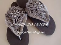Crochet - Sandalias descalzas