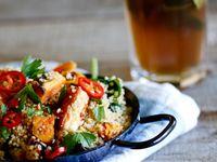 Cous cous quinoa and grains ideas