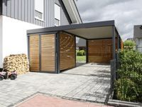 Garage mit carport modern  8 best carport images on Pinterest | Garages, Carport garage and ...