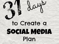 Social Media / Social media tips, tricks, hints and 31 Days to Create a Social Media Plan #socialmedia #blogging #directsales