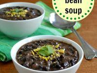 ... Chilis on Pinterest   Black bean soup, Soups and Butternut squash soup