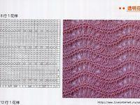 узоры спицами со схемами  Записи с меткой узоры спицами