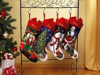 The best christmas stocking floor stand images