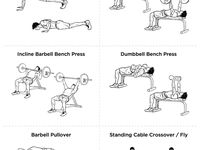 ... WORKOUTS on Pinterest | Exercise, Bicep and tricep workout and Workout