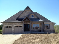 House exteriors on pinterest steel garage popup and colour gray