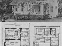 1000 Images About Vintage House Plans On Pinterest