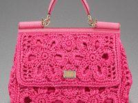 Crochet - Purses & Scarves