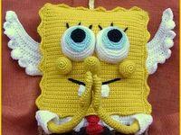 Spongyabob (Amigurumik) on Pinterest Patrick Star, Free ...