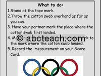 The Olympics are coming! Learn all about the summer and winter games with these fun activities.