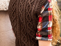 619 Best Aran Amp Cable Knitting Images On Pinterest Hand