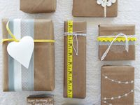 DIY _ wrappes & packages