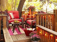 patios, decks, screened in back porches, garden ideas, landscaping, curb appeal.