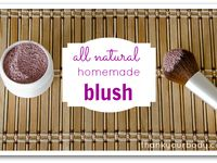 Safe, homemade beauty products from lotions to blushes.