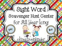 Literacy:  Sight Words, Spelling & Word Work