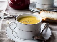 ... soups on Pinterest | Creamy Cauliflower Soup, Potato Soup and Dads