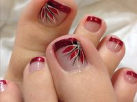 cute pedicure designs