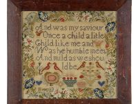 Samplers -- cross stitch / Samplers antiques and newer designs