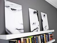 Artistic Portrait Decor