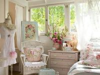 Shabby chic things that inspire me.