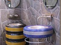 Transforma viejas llantas en lindas piezas de decoración para tu hogar