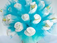 Diaper Cakes and other cool gifts for baby!