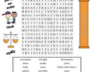 Martin Luther King Activites on Pinterest | History, Word Search and ...