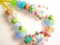Beads, jewelry, studio