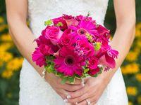 Hot Pink Wedding