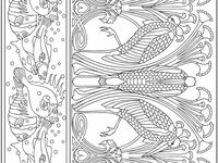 Adult Coloring Therapy-Free Printable