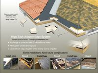 Metal Roof Ridge Vent Hi Perf Standing Seam Version Metal Era Standing Seam Metal Roof Metal Roof House Roof