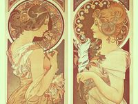 Art and illustration. Some classics by the Masters, and some new. All creative and beautiful.