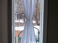 1000 images about narrow window curtains on pinterest - Narrow window curtain ideas ...