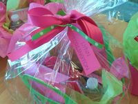 gift baskets/ closing gifts