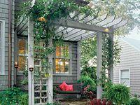 Pergolas & porches & paths--oh my!
