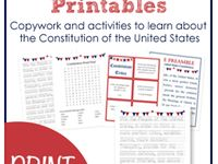 19 best images about teachers teach constitution day on pinterest activities births and student. Black Bedroom Furniture Sets. Home Design Ideas