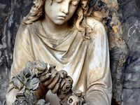 Cementery Statues