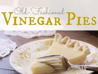 Vinegar Pie /// Really ????? on Pinterest | Vinegar Pie, Cupboards ...